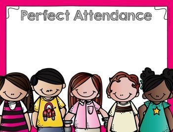 best images on. Attendance clipart border