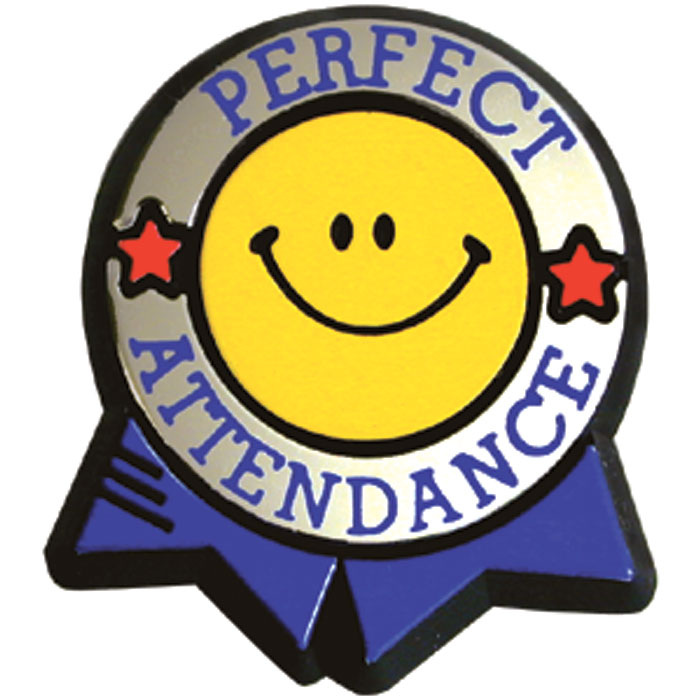 100 clipart attendance. Perfect colorful pin jones