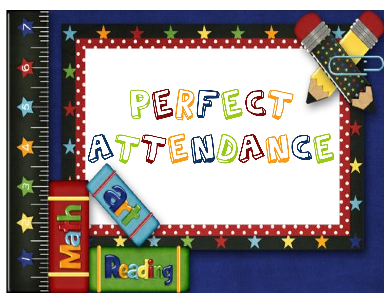 Two can do it. Attendance clipart border