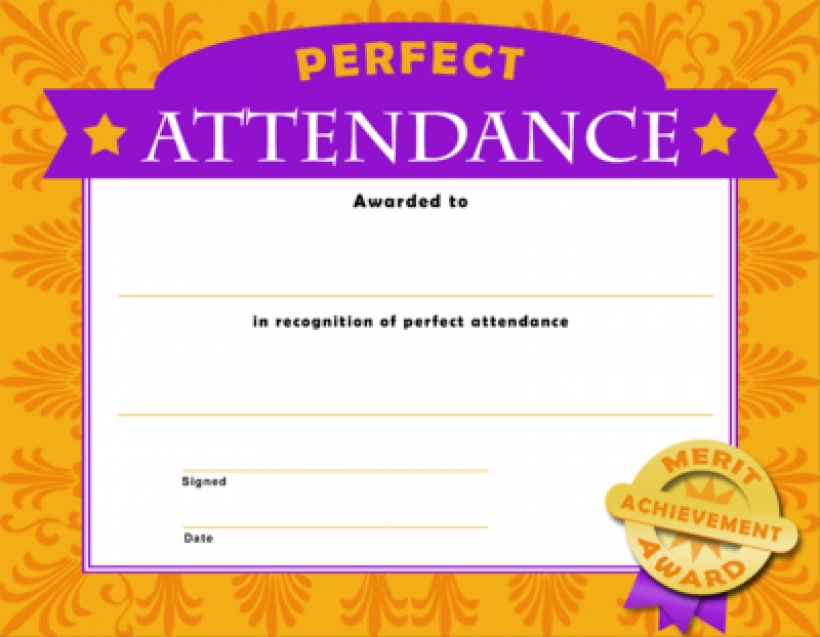 Image perfect christian template. Attendance clipart border
