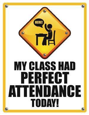Freebie for perfect this. Attendance clipart classroom attendance