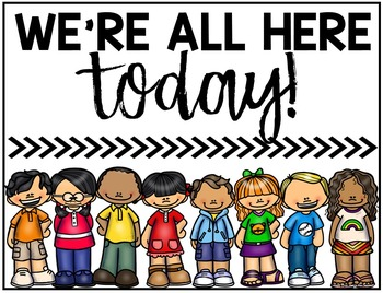 Challenge student circle numbers. Attendance clipart classroom attendance