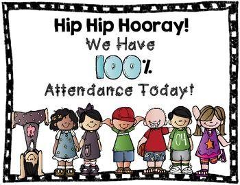 Attendance clipart present attendance.  best awareness month