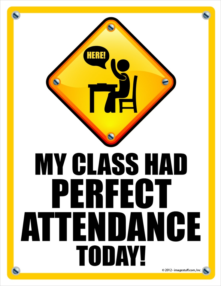 best images on. Attendance clipart sign