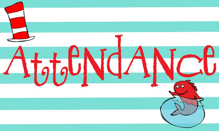 Attendance clipart sign.  best pictures images