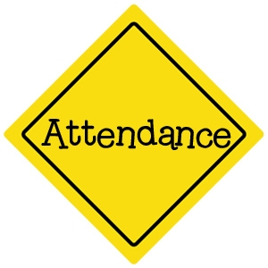 Attendance clipart sign. Iconoplaste com free and