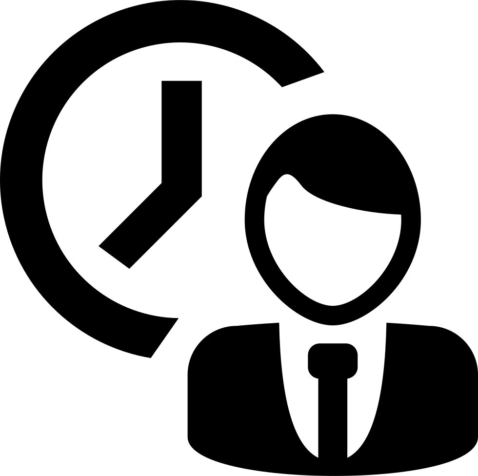 Hr attendance reminder odoo. Working clipart symbol