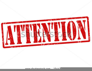 Attention clipart attention getter. Free getters images at