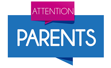 Attention clipart attention parent. Update contact information evsc