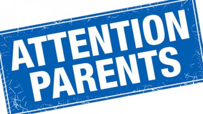 Attention clipart attention parent. Parents is your child