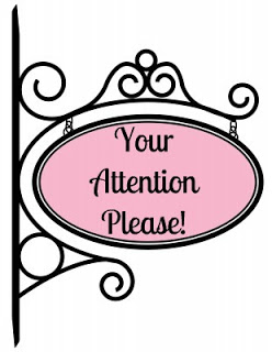 Attention clipart attention please.  collection of your