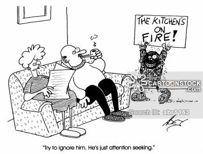 Attention clipart attention seeker. Seekers cartoons and comics