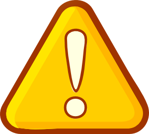 Attention clipart attention sign. Clip art at clker