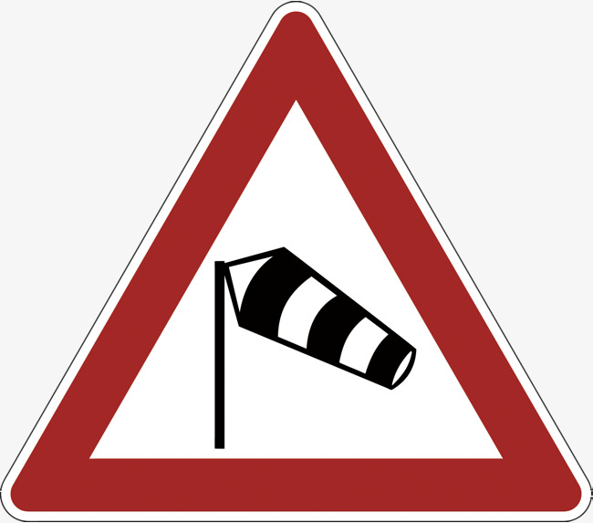 Attention clipart attention sign. Pay to the wind