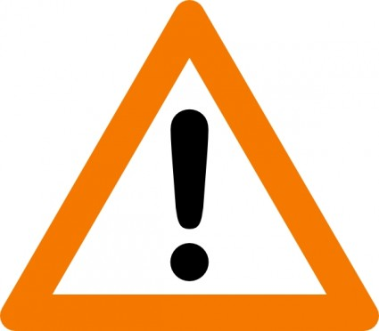 Free warning download clip. Caution clipart alert sign