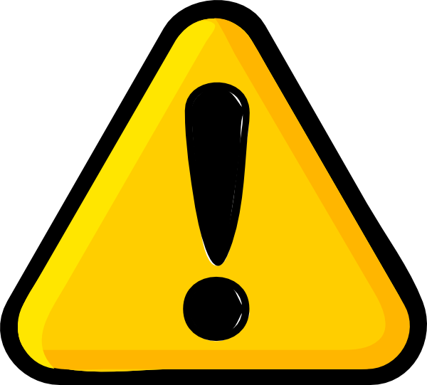 Attention clipart attention sign. Clip art the cliparts