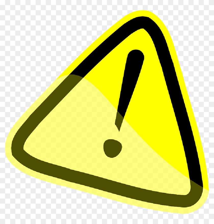 Caution warning yellow exclamation. Attention clipart attention sign