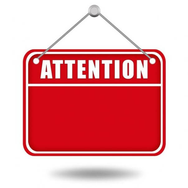 ways to make. Attention clipart attentiveness