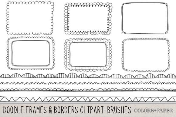 Attention clipart border.  vector borders dividers