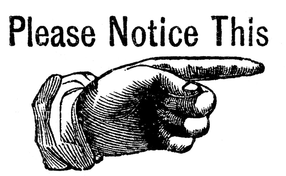 Attention clipart cartoon. It s all about