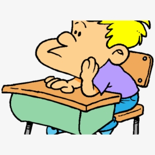 Attention clipart cartoon. Student paying transparent free