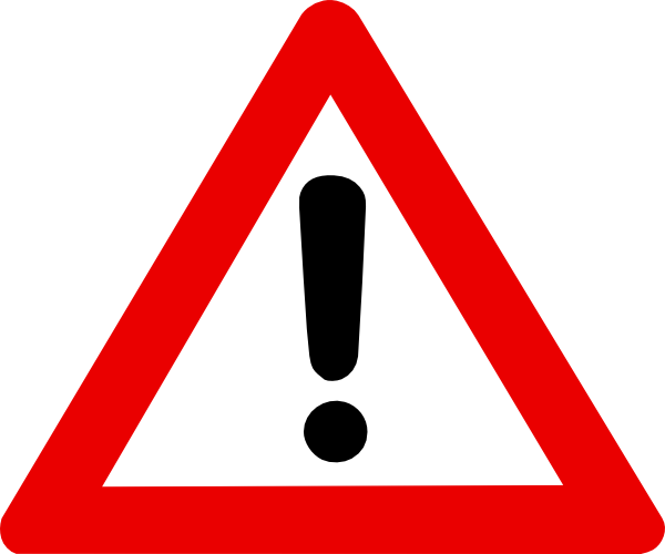 Attention clip art at. Caution clipart caution symbol