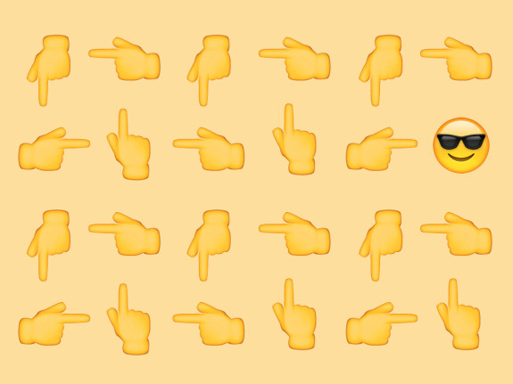 Searching for the perfect. Attention clipart emoji