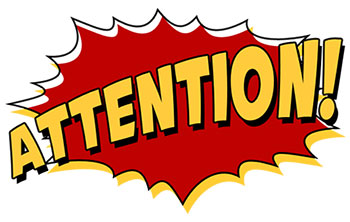 Attention clipart important notice, Attention important notice Transparent  FREE for download on WebStockReview 2021