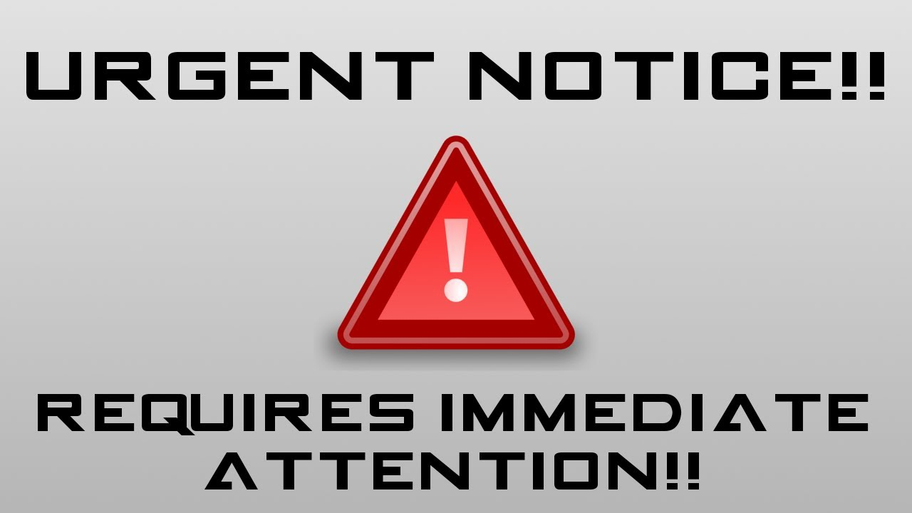 Attention clipart attention please, Attention attention ...