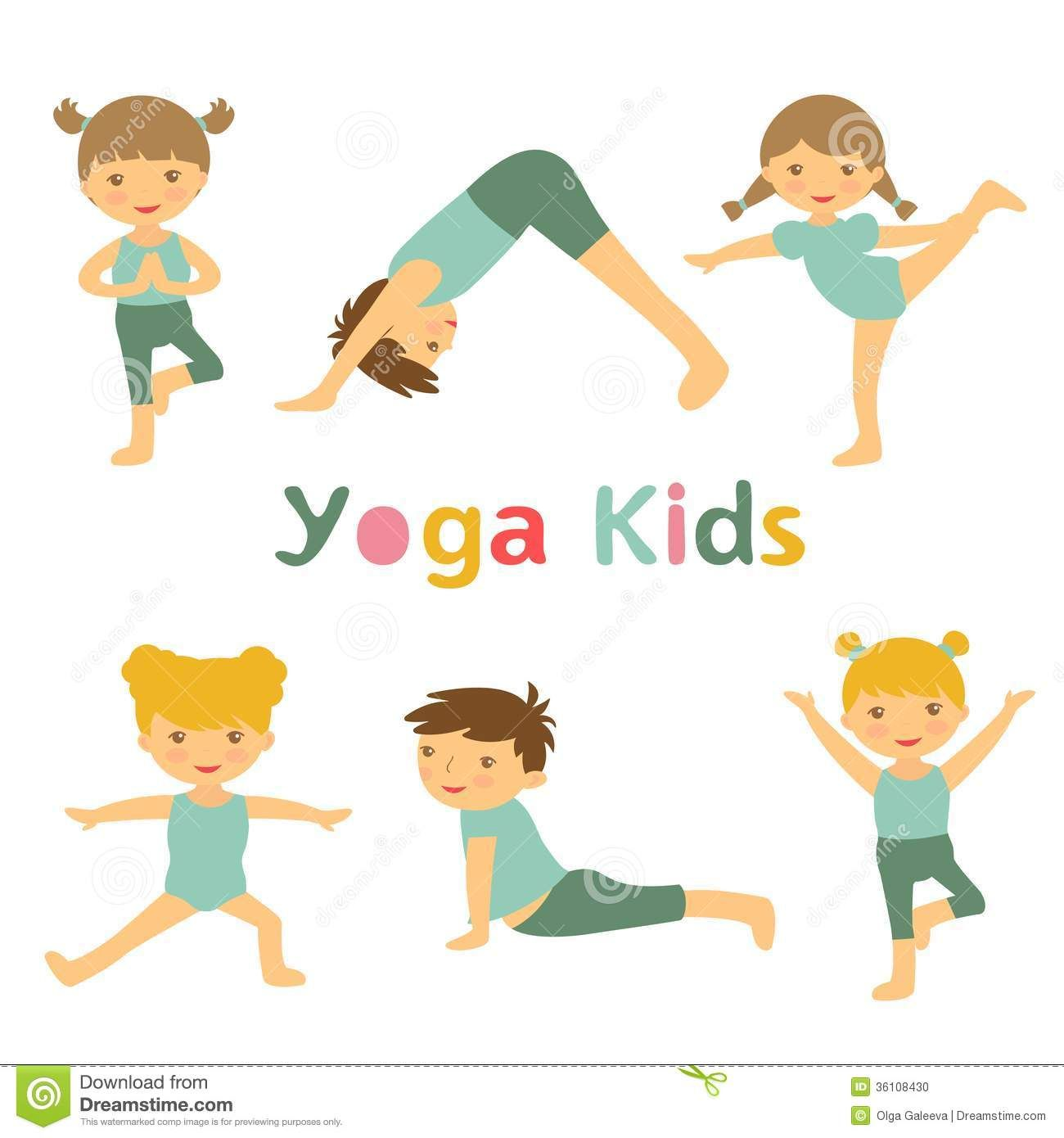 Calm clipart kid meditation. Kids yoga bambini