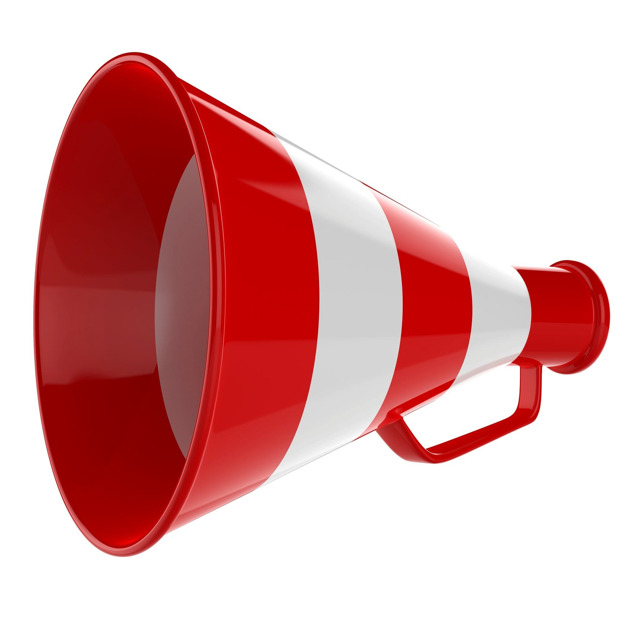 Changing the rules launch. Attention clipart megaphone