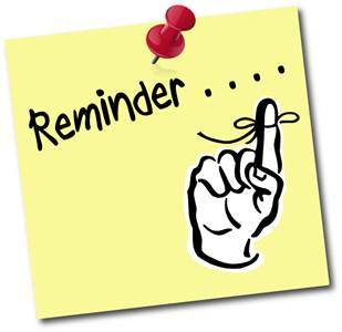 Attention clipart reminder. Clip art library