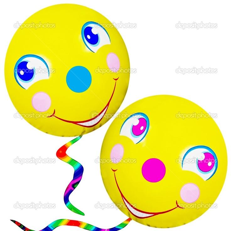 best happy faces. Ballon clipart smiley face