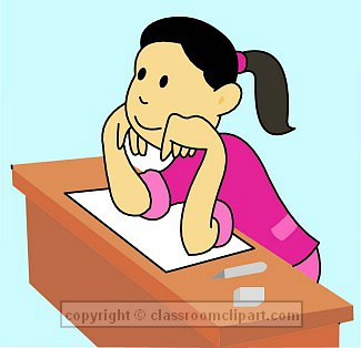 Free paying attention download. Worry clipart quiet student