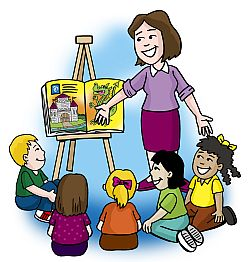 About reading . Attention clipart teacher