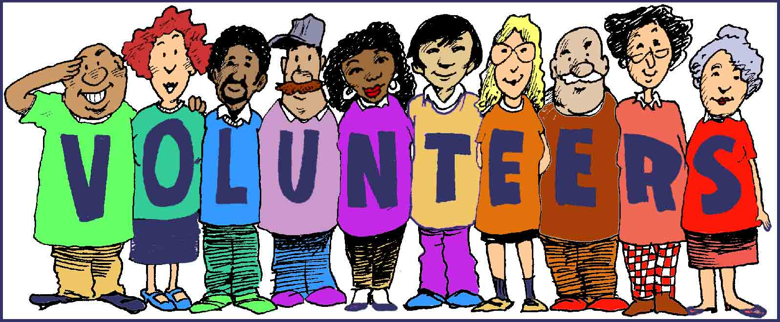 Call for volunteers surrey. Attention clipart volunteer