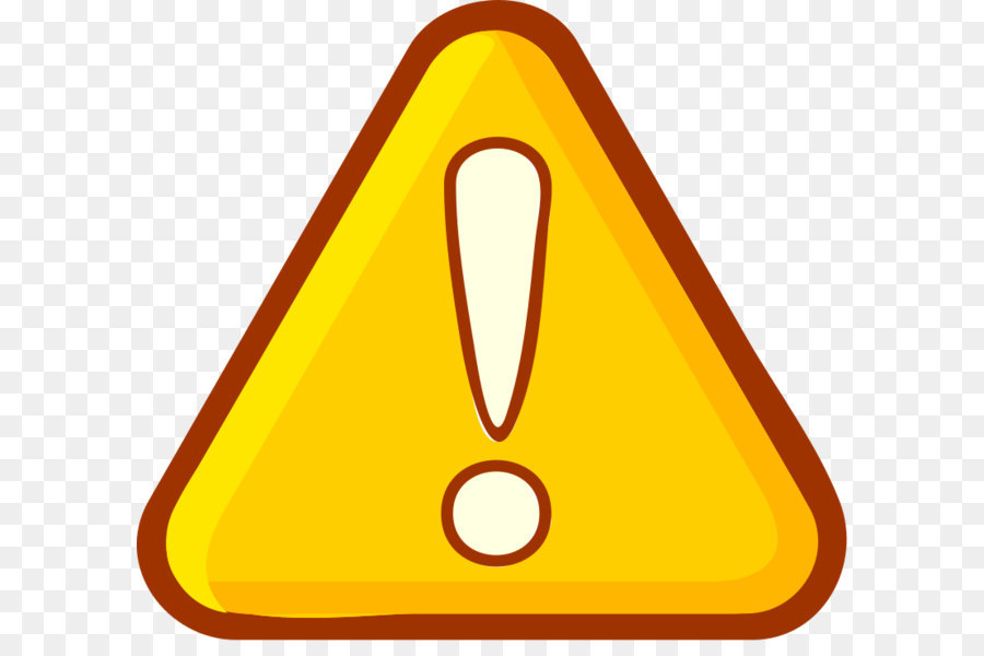 Attention clipart warning triangle. Icon clip art png