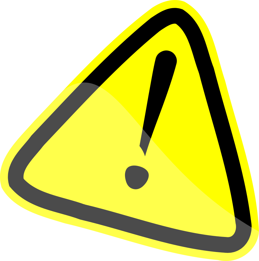 Collection danger triangle clip. Triangular clipart warning