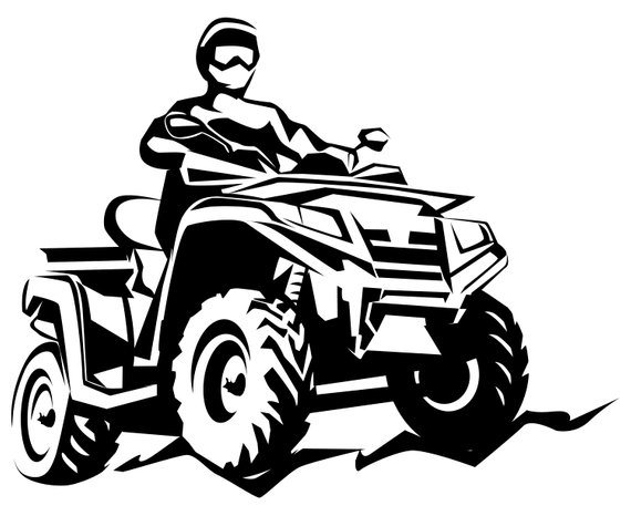 Drawing free download best. Atv clipart
