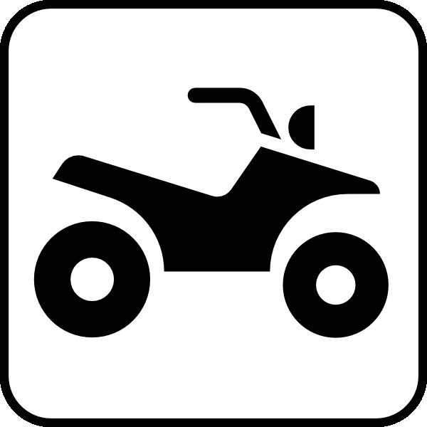 Atv clipart 2 wheeler. All terrain vehicle clip