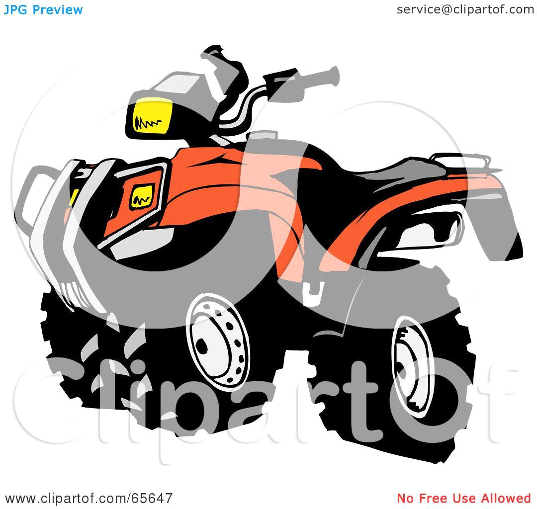 Atv clipart 2 wheeler. Four free download best