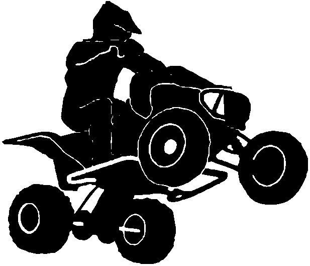 atv clipart atv racing