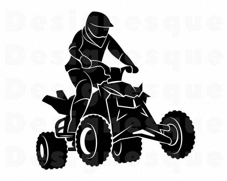 Svg wheeler motocross files. Atv clipart atv tire