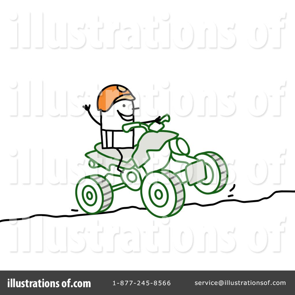 Atv clipart cartoon. Illustration by nl shop