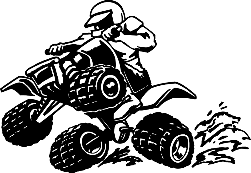 Atv clipart clip art. Download free png silhouette