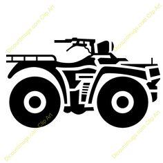 atv clipart four wheeler