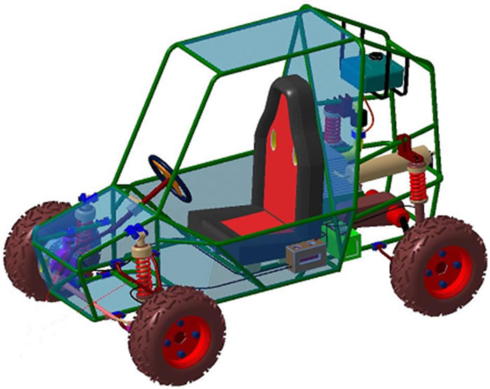 Simulation aspects of a. Atv clipart muddy