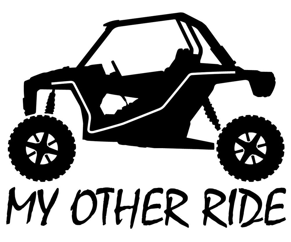 Clip art library . Atv clipart side by side