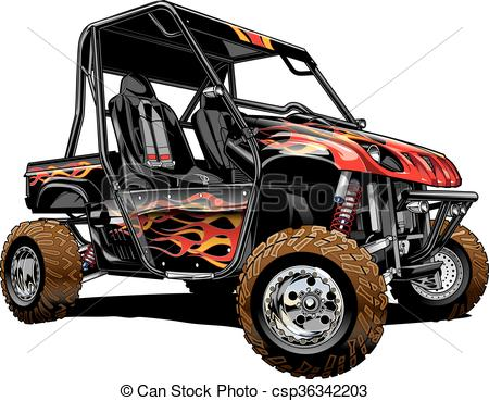 Rzr at getdrawings com. Atv clipart silhouette