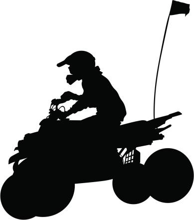 Atv clipart silhouette. Free cliparts download clip